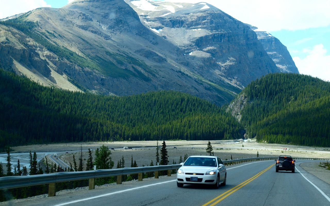 加拿大洛基山风景